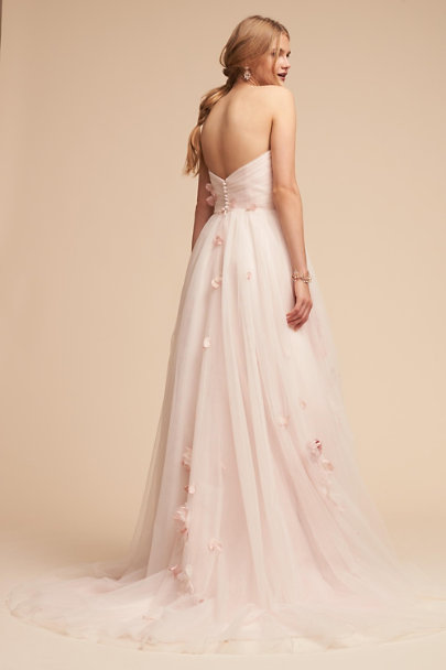 Whispers & Echoes Rose Eloise Ballgown | BHLDN