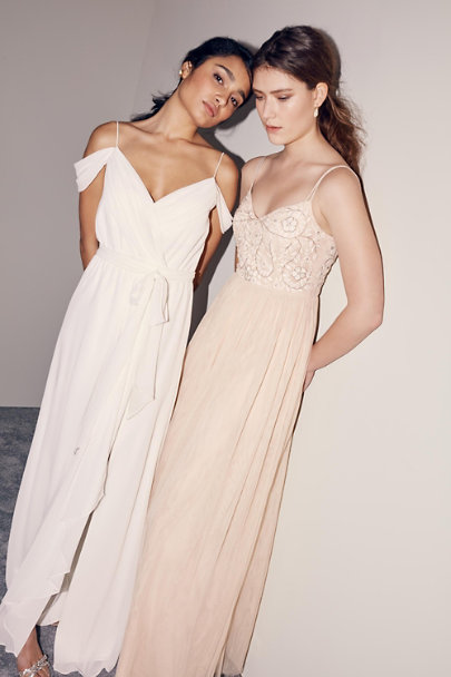BHLDN Oyster Elowen Dress | BHLDN