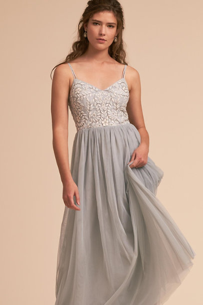 BHLDN Fog Elowen Dress | BHLDN