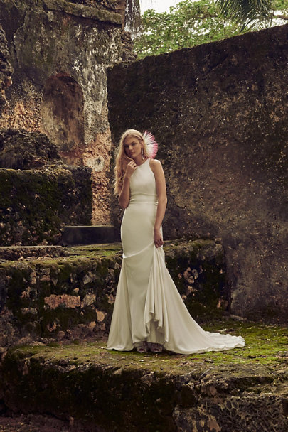 Whispers & Echoes Ivory Loretta Gown | BHLDN