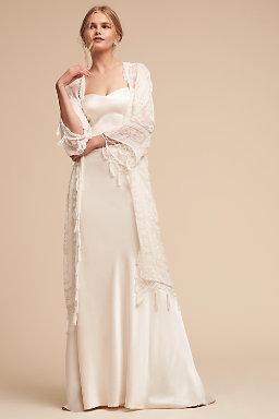 Shop bridal cover ups on sale bhldn concordia burnout velvet wrap junglespirit Images
