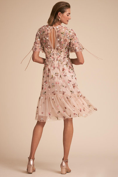 Needle & Thread Petal Pink Bobbi Dress | BHLDN