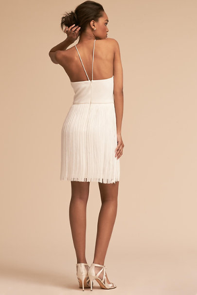 Aidan Mattox Ivory Levine Dress | BHLDN