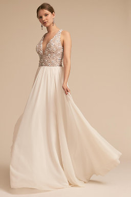 Shop wedding dresses on sale wedding dress clearance bhldn roxbury gown junglespirit Gallery