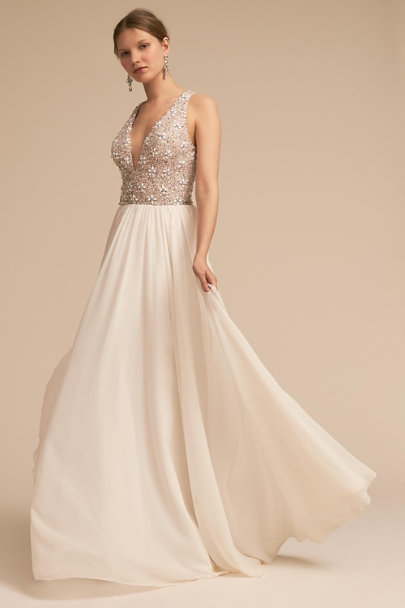 Terani Couture Ivory Roxbury Gown | BHLDN