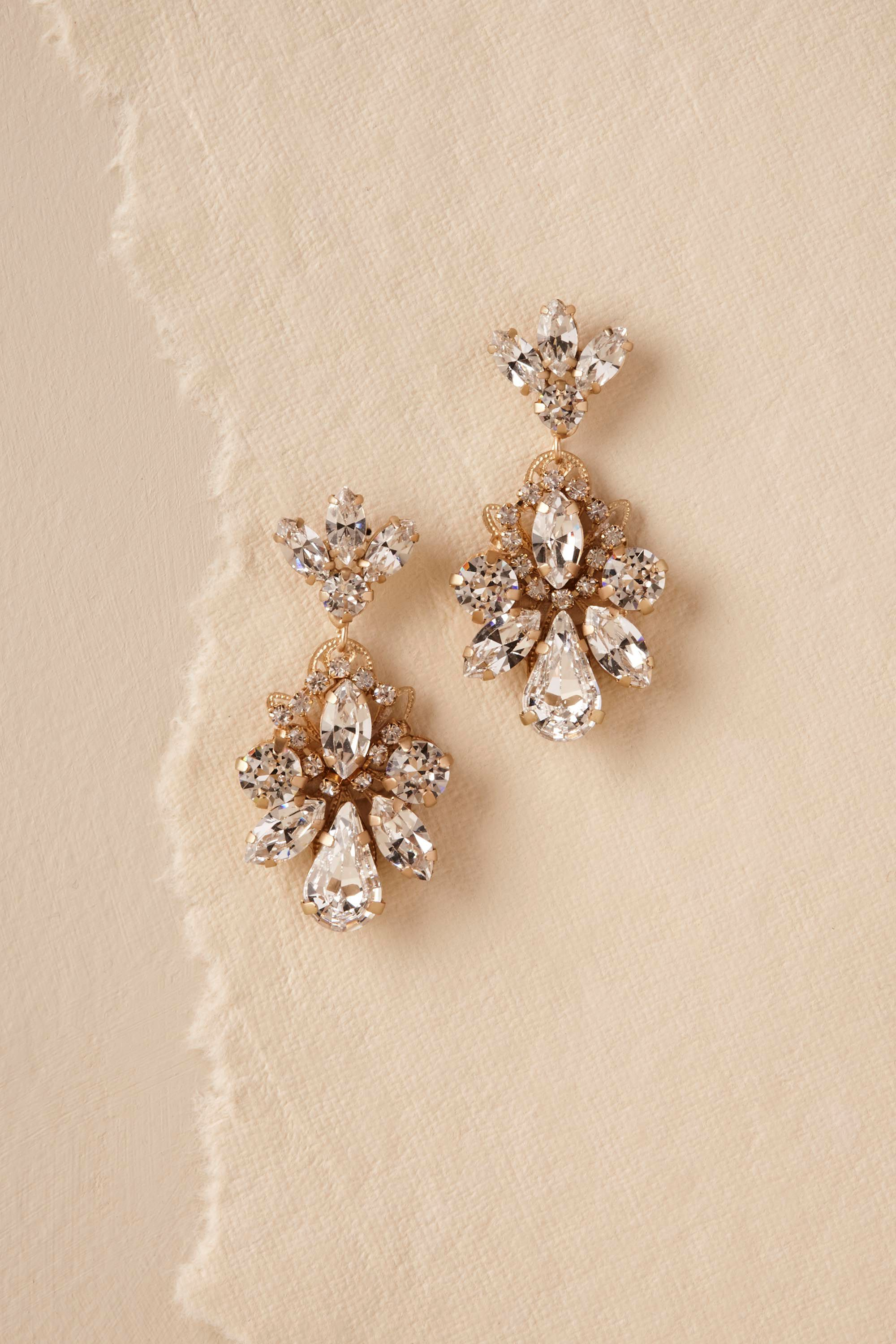 Gena Crystal Earrings