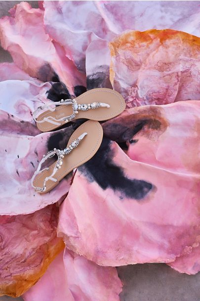 Bella Belle Silver Hera Sandals | BHLDN