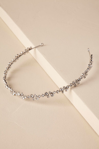 Silver Larchwood Headband | BHLDN
