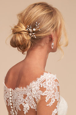Bridal hair combs hair pins hair clips bhldn carlin hair pin junglespirit Image collections