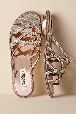 Flat wedding shoes bridal flats bhldn sofie slides junglespirit Image collections