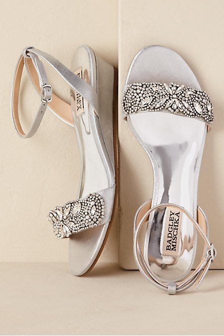 Sparkle Demi Wedge