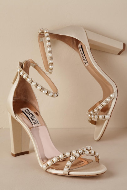 Badgley Mischka Ivory Hooper Heel | BHLDN