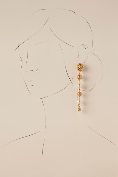 Ben-Amun Gold Amelia Earrings | BHLDN