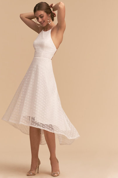 Jenny Yoo Ivory Carter Dress | BHLDN