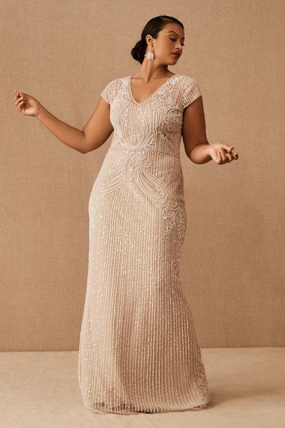 1930s Wedding History BHLDN Sanders DressSize Guide Video $390.00 AT vintagedancer.com