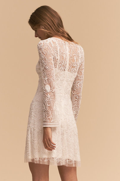 Lara Ivory Channing Dress | BHLDN
