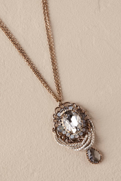 Theia Jewelry Gold Valerie Necklace | BHLDN