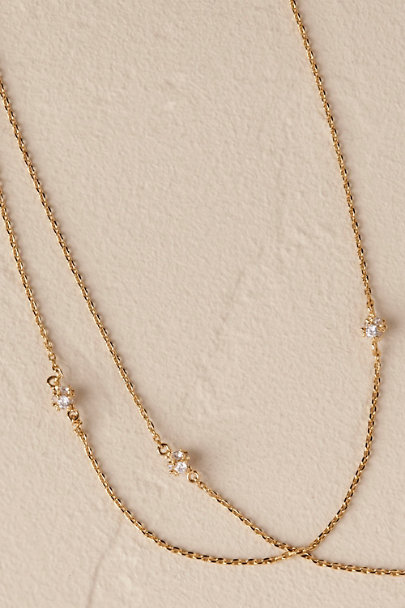 Theia Jewelry Gold Harriet Necklace | BHLDN