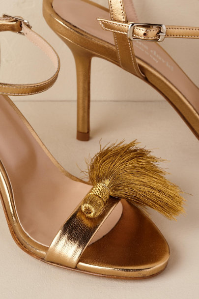 View larger image of Gold Fringe Heels