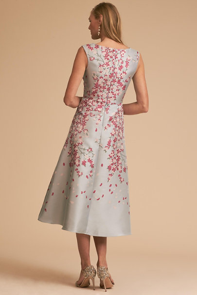 BHLDN Blue Motif Agie Dress | BHLDN