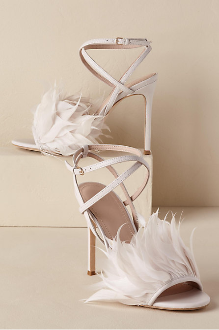 Annette Feather Heels