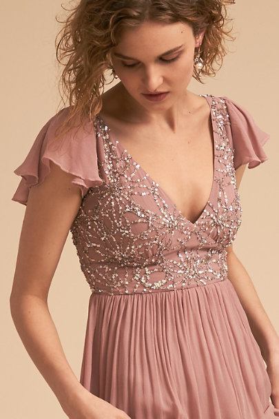 BHLDN Rose Quartz Daphne Dress | BHLDN