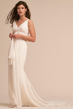Backless wedding dresses low back wedding gowns bhldn mykonos gown mykonos gown junglespirit Image collections