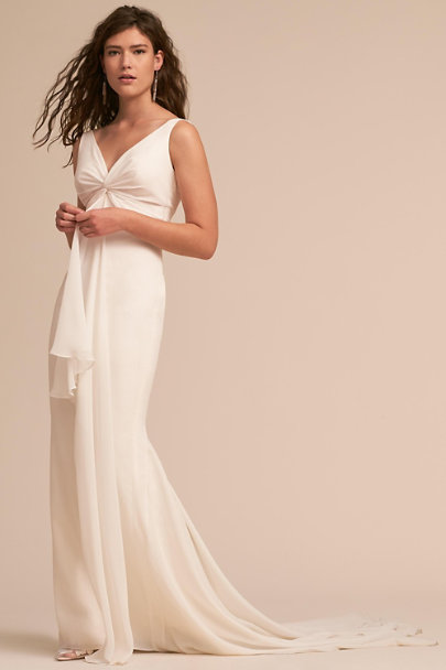 Katie May Ivory Mykonos Gown | BHLDN