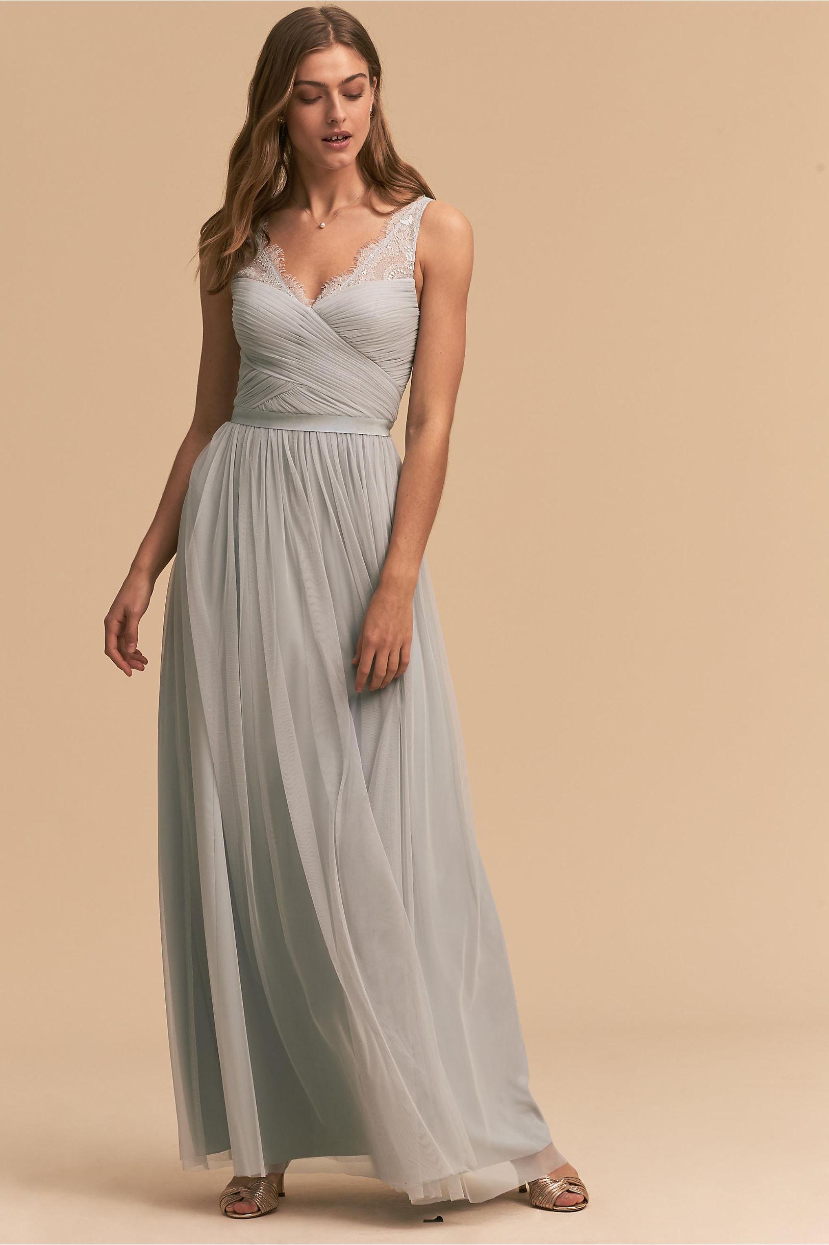 Black grey bridesmaid dresses bhldn fleur dress ombrellifo Choice Image