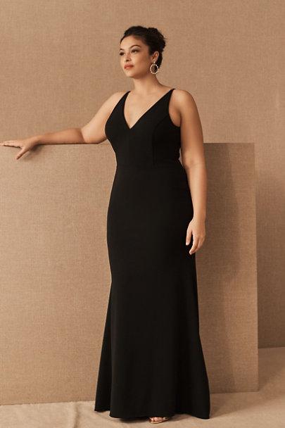 View larger image of Jones V-Neck Crepe Dress