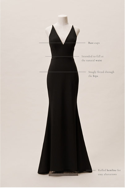 BHLDN Black Jones Dress | BHLDN