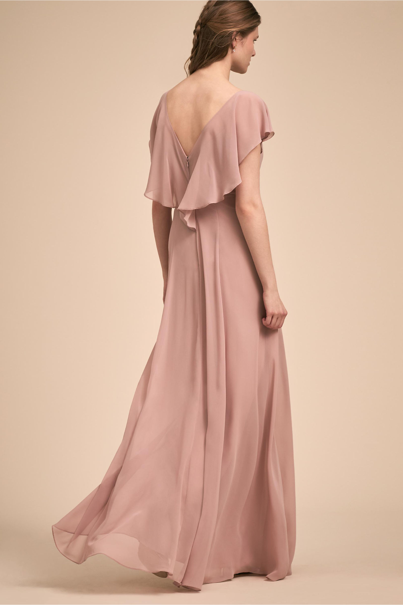 Paisley Dress Whipped Apricot in Sale   BHLDN