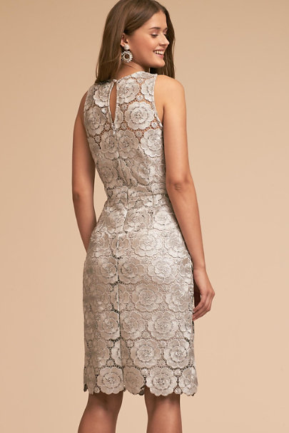 Silver Emmeline Dress | BHLDN