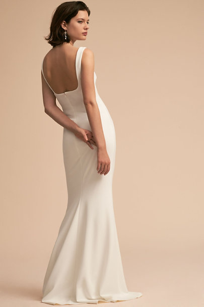 Katie May Ivory Lucy Dress | BHLDN