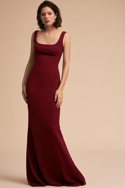 Katie May Bordeaux Lucy Dress | BHLDN