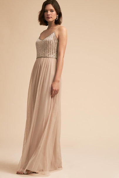 Adrianna Papell Sand Dune Laurent Dress | BHLDN