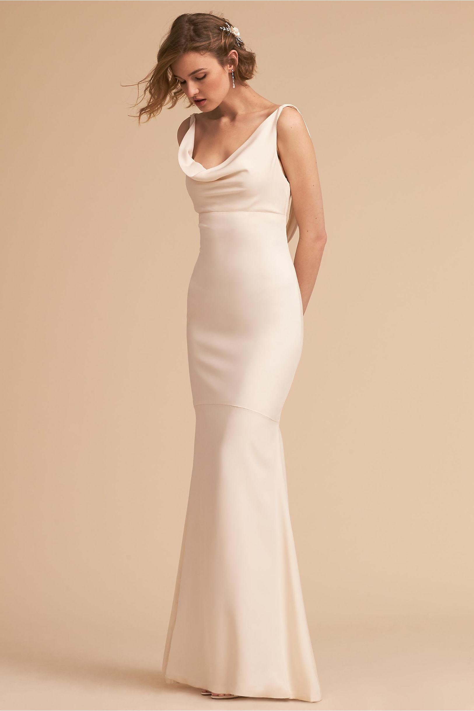 Sheath & Column Wedding Dresses | BHLDN