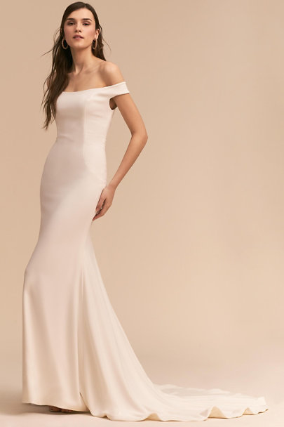 Whispers & Echoes Ivory Atlantic Gown | BHLDN