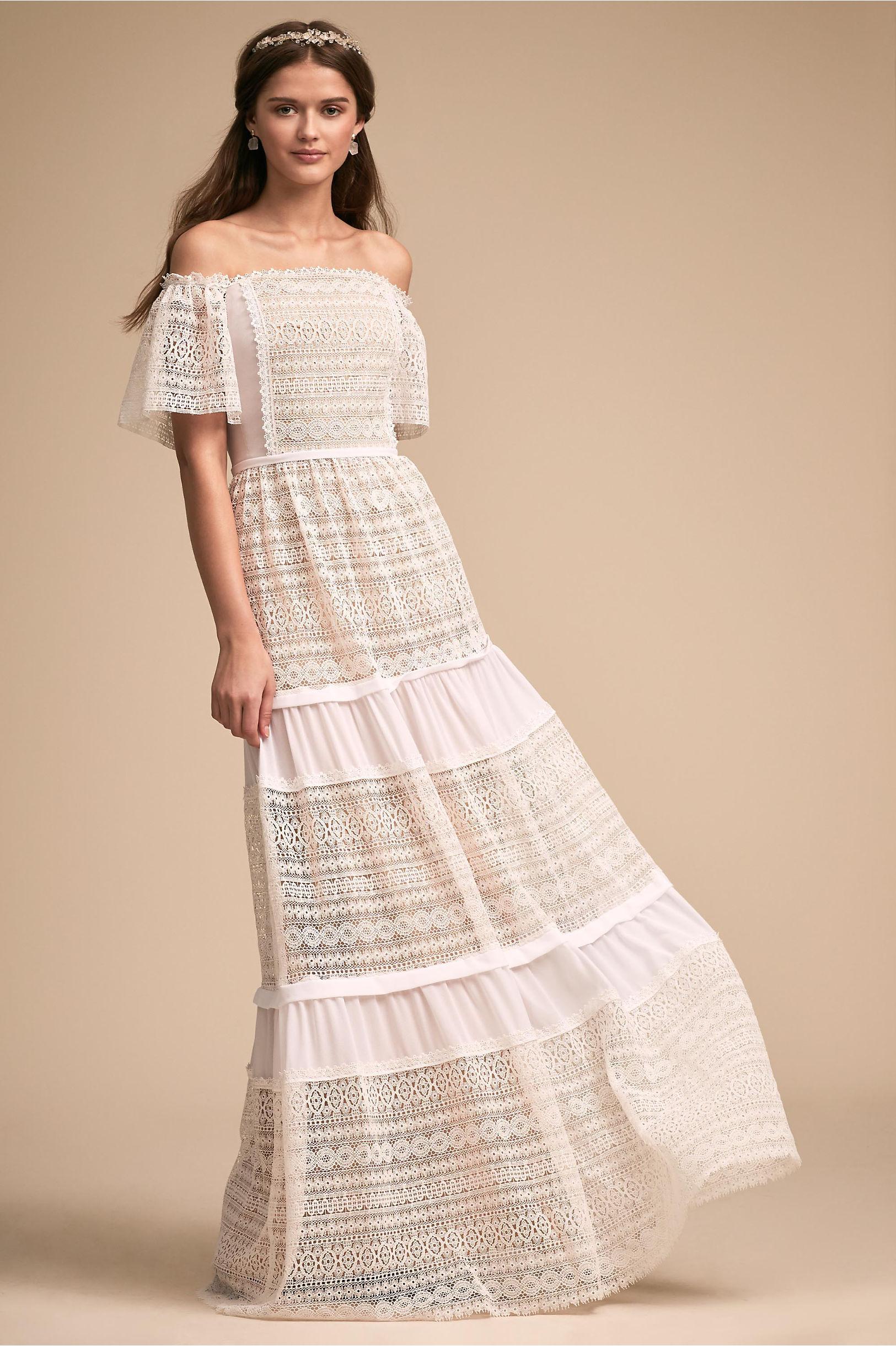 Shiloh Dress Ivory in Sale | BHLDN