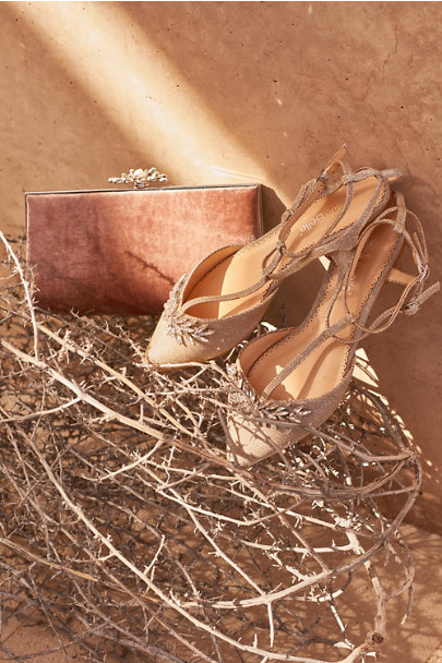 Bella Belle Gold Phoebe Flat | BHLDN