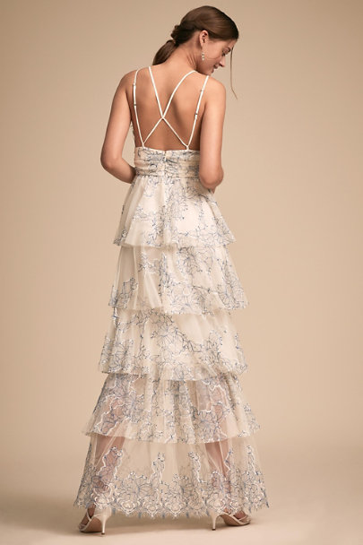 Alice McCall Blue Motif Love Is Love Dress | BHLDN