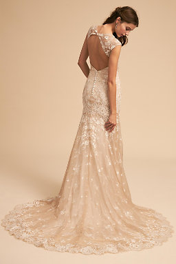 Backless wedding dresses low back wedding gowns bhldn trevi gown trevi gown junglespirit Image collections