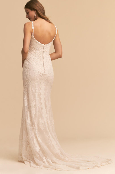 Whispers & Echoes Ivory J'adore Gown | BHLDN