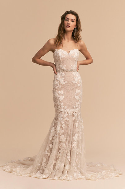 Whispers & Echoes Ivory Lombardy Gown | BHLDN