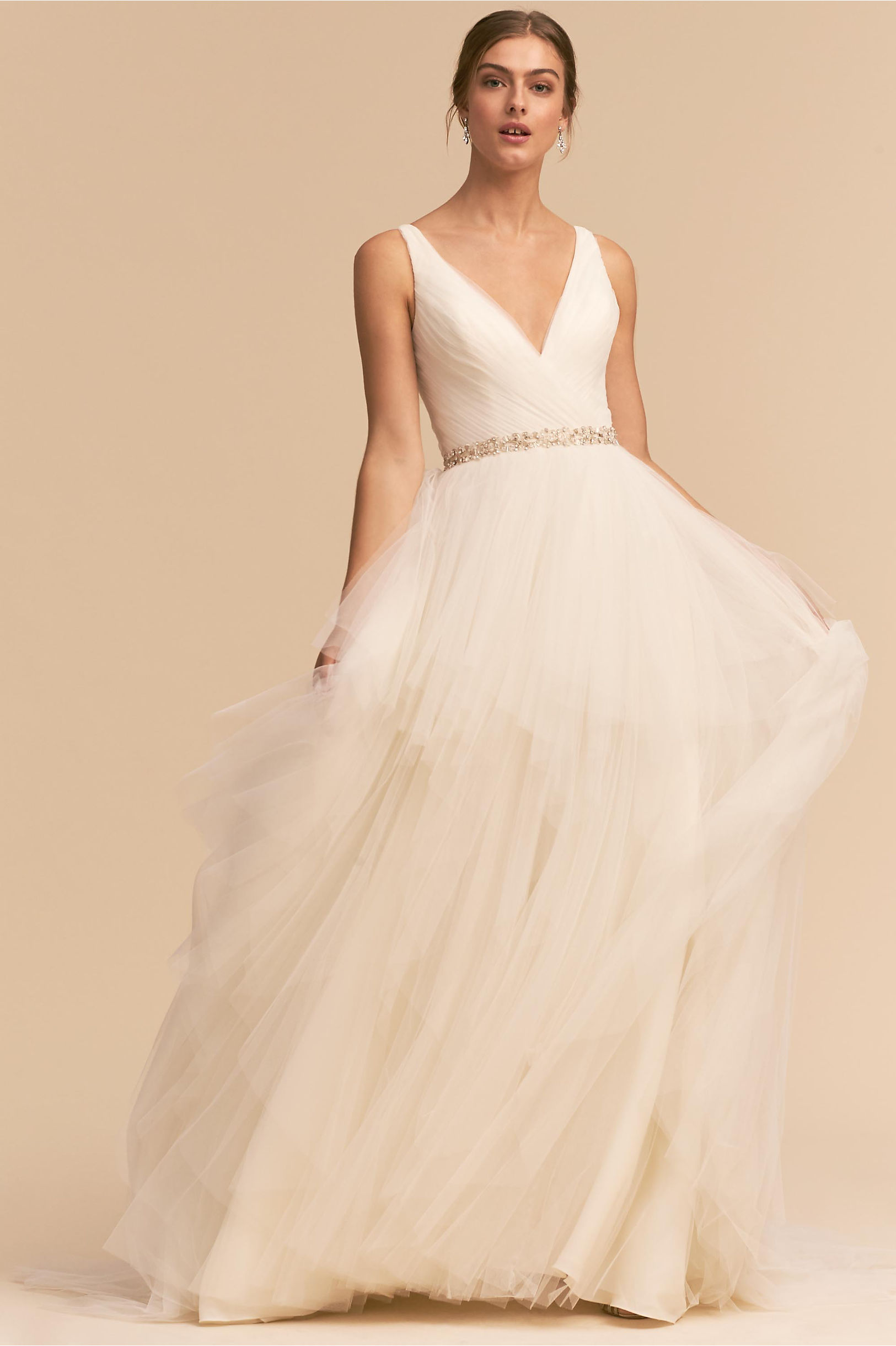 Majestic Ballgown Ivory in Bride | BHLDN