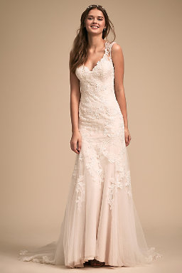 Vintage lace wedding dresses lace wedding gowns bhldn lure of lace gown junglespirit Gallery