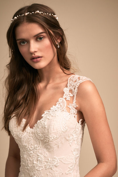 Whispers & Echoes Ivory Lure of Lace Gown | BHLDN