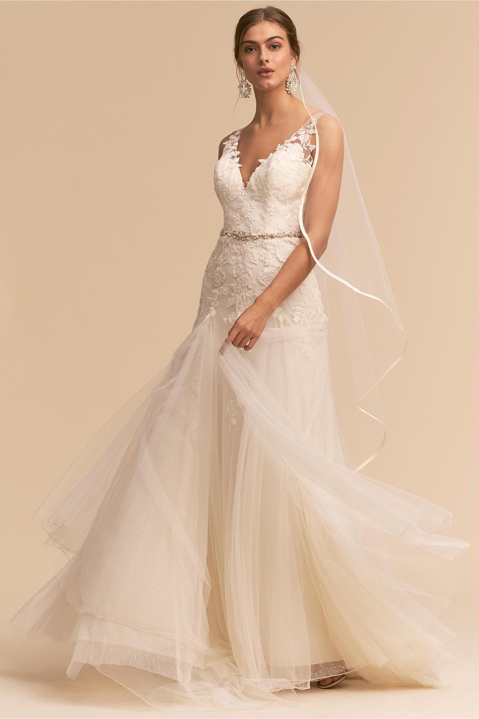 Soulmate Gown Ivory in Bride | BHLDN