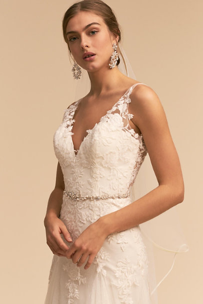 Whispers & Echoes Ivory Soulmate Gown | BHLDN