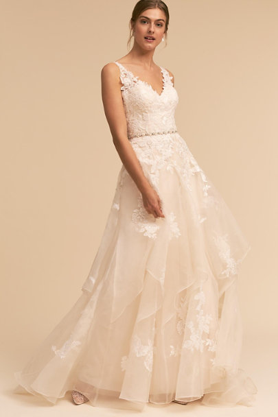 Whispers & Echoes Ivory Ever After Gown | BHLDN